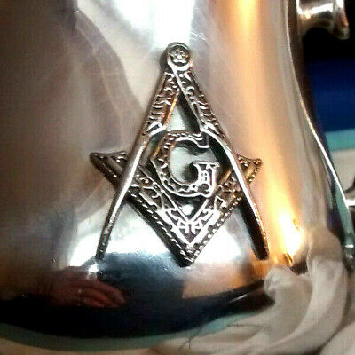 Mappin & Webb Silver Plated Twin Handled Commemorative Chalice/Cup .Masonic