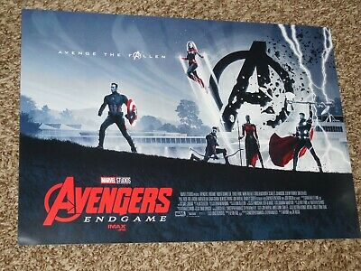Avengers End Game Week 2 AMC 11x15.5 Promo Movie POSTER