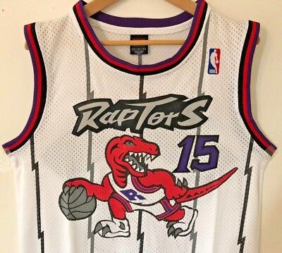 Vince Carter Toronto Raptors Nike Swingman Throwback Stitched Jersey