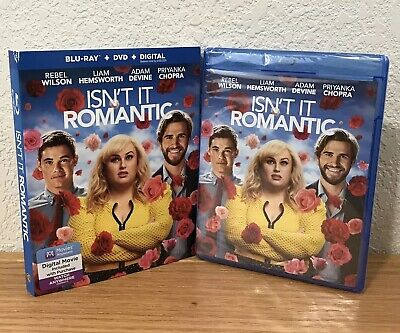 ISN'T IT ROMANTIC (Blu-Ray+DVD+Digital, 2019) 2-DISC SET with SLIPCOVER SEALED!
