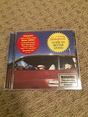 RARE Grinspoon Guide to Better Living 2CD Bonus Edition (includes 6 track EP)