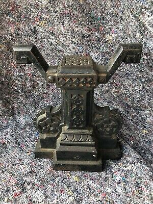 Antique Cast Iron Door Stop. 1800s Arts And Crafts Christopher Dresser Style