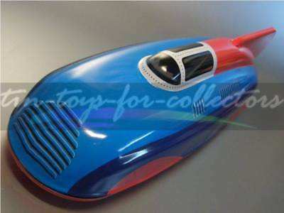 LAND SPEED RECORD RACE CAR  RENNWAGEN  LSR 1  LITHOGRAPHIERT -- LÄNGE 28 cm (AB)