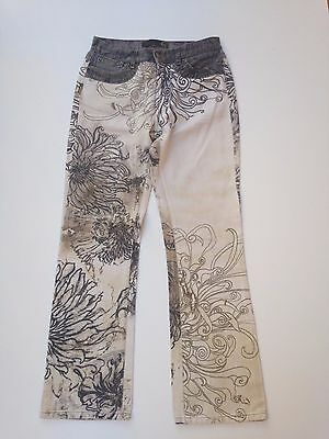 Pantaloni Just Cavalli Ladies Floral Jeans W28