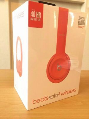Beats by Dr. Dre Solo3 - RED Wireless Headphones