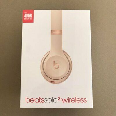 Beats by Dr. Dre Solo3 - SATIN GOLD Wireless Headphones