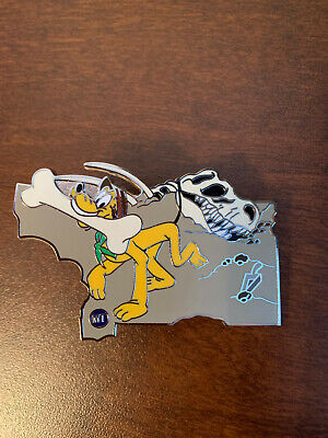 Disney Parks American Adventure MYSTERY MT Pluto COLOR LR Trading Pin
