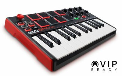 Akai Professional MPK Mini Mk 2 Midi Keyboard 25 Key Drum Pad USB Controller