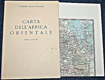 T.c. I.                   Carta  Dell'africa  Orientale                1935