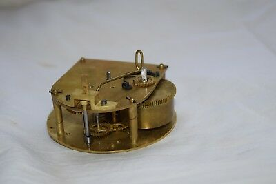 antique french small  clock  tic tac   movement