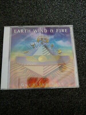 Earth, Wind & Fire - Greatest Hits (CD) • Factory Sealed Minor Cracks