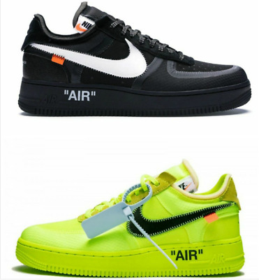 Nuovo di zecca x Off White Air Force 1 Low Sneakers Shoes Man&Woman 36,45