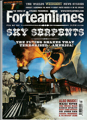 FORTEAN TIMES Magazine May 2009 - Sky Serpents