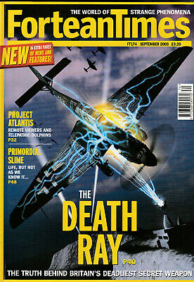 FORTEAN TIMES Magazine September 2003 - The Death Ray