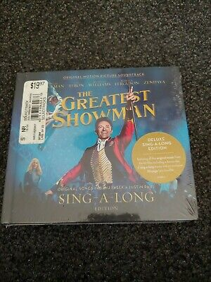 THE GREATEST SHOWMAN Soundtrack CD Deluxe Sing-A-Long-Edition Factory Sealed