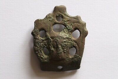 11th Century Late Saxon Stirrup Mount With Beast Face