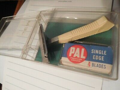 PAL Injecto Matic Vintage Injector Safety Razor for Shaving IN ORIGINAL BOX