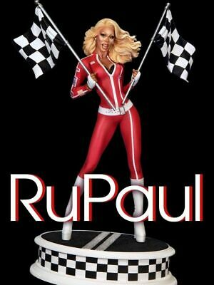 Tweeterhead RuPaul Drag Race with Flags Maquette Statue IN STOCK