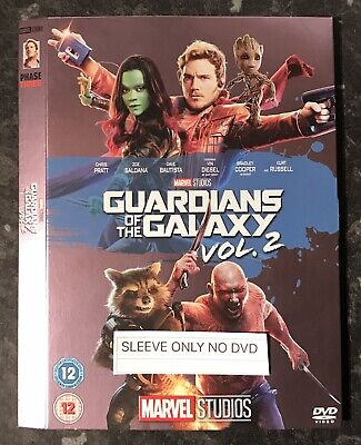 Guardians Of The Galaxy 2  Marvel Dvd Ltd Ed Sleeve (Sleeve Only No Dvd) Mint