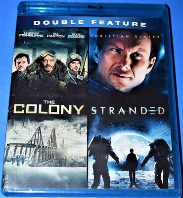 New Bill Paxton Christian Slater The Colony & Stranded Sci-Fi Movies Blu Ray