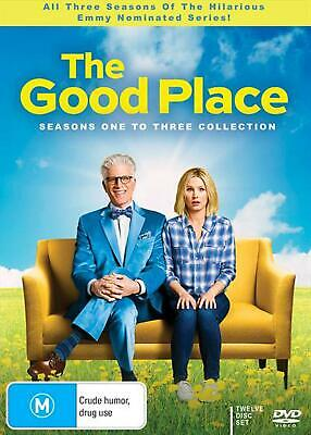 The Good Place : Season 1-3   Collection - DVD Region 4 Free Shipping!