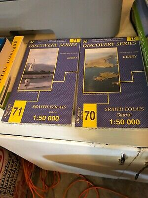 Irish Discovery Series Maps by Ordnance Survey Ireland Sheet map folded X2 Kerry