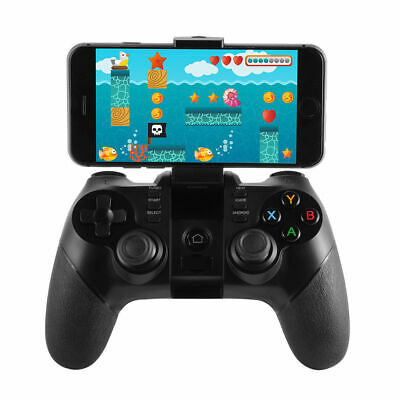 Bluetooth Wireless Gamepad Remote Controller for iPhone 8/7/6S Black/White z
