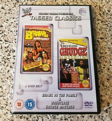 WWE Tagged Classics BRAWL in the family & WRESTLING Grudge Matches WWF RARE DVD