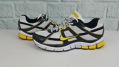 quality design 09b7f c55fe Nike Air Pegasus+ 26 LAF Livestrong Lance White Black Maize 361034 171 Size  US 8
