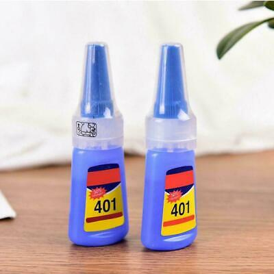 1X Loctite 401 Super Glue Instant Adhesive 20G Metal Rubber Ceramic Leather