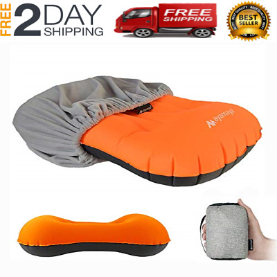 Ultralight Inflatable Stretch Backpacking Pillow. Lighter Vs Sea To Summit Aeros