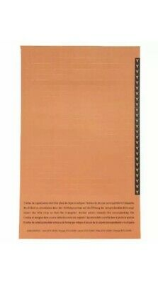 Esselte Orgarex Lateral Insert White With Orange Tip (Pack of 250) 32690