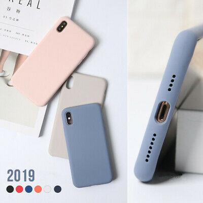2019 For Apple iPhone Xs Max XR X 7 8 Plus 6s Liquid Soft Rubber Baby Case Cover