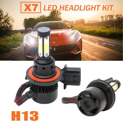 1400W 9012 LED Headlight Low Beam Bulbs for 13-15 Ram 1500 2500 3500 w//Projector