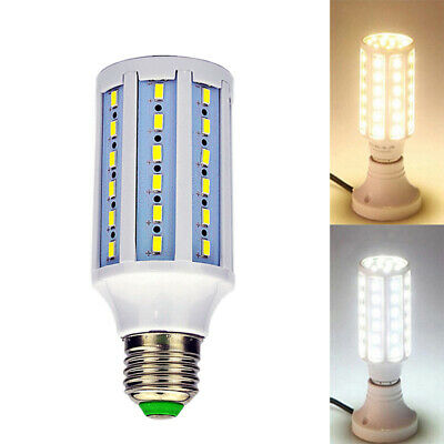White Lamp E27 Base Screw Replacement Lamp LED Bulb Spot Light Corn Light