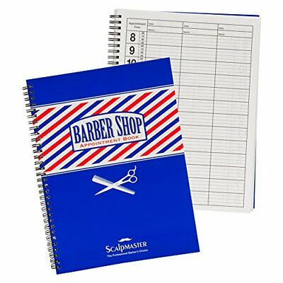 SCALPMASTER 3 Column Barber Appointment Book BK-SC9019