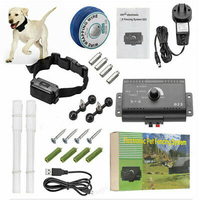 Electric Dog Collar Containment System Shock Boundary Control Fence
