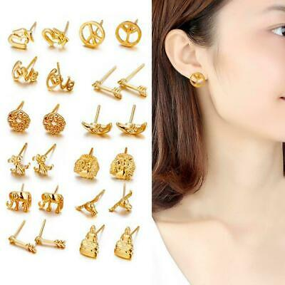 12Pair Women Fashion Magic Earring Backs Lifter Support Hypoallergenic Jewelry F
