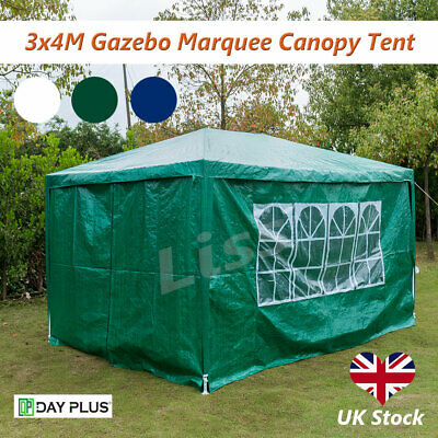 3mX4m Waterproof Outdoor Garden Gazebo Party Tent Marquee Awning Canopy Shelter