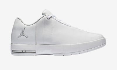 6d9ca22eeea5e JORDAN TE TEAM Elite 2 Low White Silver Shoes Leather AO1696-100 $110 Mens  8->13