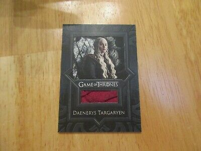 Game of Thrones Inflexions Relic Costume Card VR9 Daenerys Targaryen's Cape