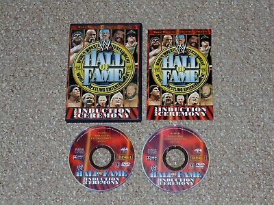 WWE - Hall of Fame 2004 Induction Ceremony DVD 2004 Complete 2-Disc Set