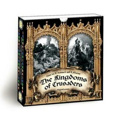 Right Games Boardgame Kingdoms of Crusaders, The Box VG+