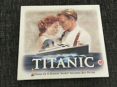 NEW sealed Titanic VHS Box Set Collectors Edition with 35mm Film Cell & 8 Cards