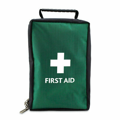 Empty First Aid Kit Bag With  Compartments - Extra Small -  Green - Oslo Bag
