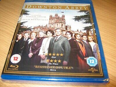 Downton Abbey - Series 4 [Blu-ray]  DVD ~ Maggie Smith  New sealed