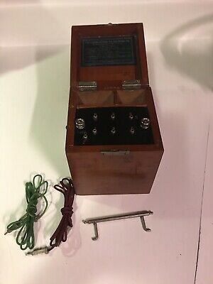 Early Electric Chloride Of Silver Dry Cell Battery Co. Quack Medical Device RARE