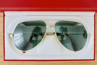 6beb86e577 Sunglasses CARTIER - Santos Dumont - Titan - Genuine Glasses - Ultra Rare !