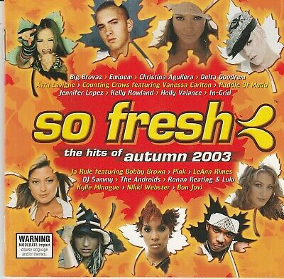 Various Artists - So Fresh: The Hits Of Autumn 2003 CD