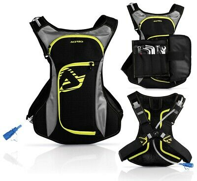 Zaino Zainetto Idro Attrezzi Tool Acerbis H2O Acqua Drink Bag 2L Enduro Cross 3L